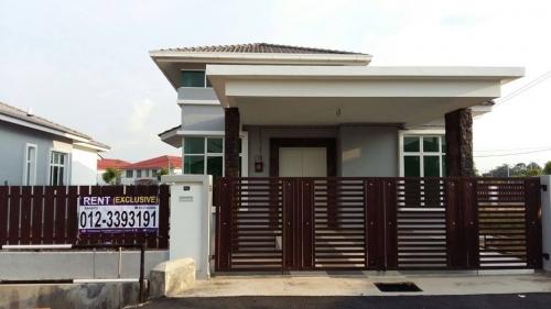 durian tunggal  melaka house for rent